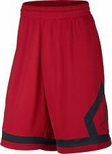 AIR Jordan RED & BLACK MEDIUM MED  Flight Diamond Men's Basketball Shorts  $45