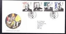 Great Britain 1995 - Communications First Day Cover 340b Edinburgh to Chepstow