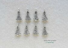 Christmas Tree Charm Jewelry Making Supply Embellish Sewing Paper Craft