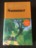 ●SIGNED● ALI SMITH SUMMER FIRST EDITION 1ST PRINTING - HARDBACK - NEW