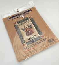 Dimensions Antiqued Quilts Guardian Angel Bless Our Family Quilt Kit 7819