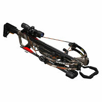 Barnett Explorer Series XP400 Hunting Compound Crossbow with Scope, Strike Camo