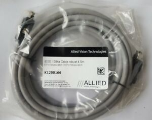 ALLIED VISION K1200166 Fire Wire Cable IEEE 1394A 4.5M (IN6S6B3)