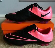 BNIB Nike Mercurial Vapor X Leather FG *Pro Version* Black/Hyper Pink