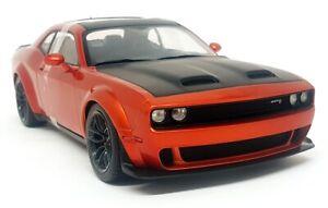 Solido 1/18 Scale - Dodge Challenger SRT Hellcat Redeye Orange Diecast model car