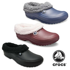 Crocs Blitzen III Clogs Unisex Warm Lined Winter Mens Womens Garden Slipper Shoe