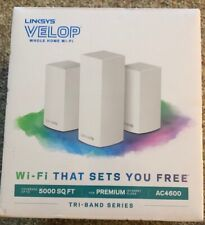 Linksys Velop Triband AC4600 Intelligent Mesh WiFi Router Replacement System