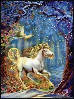 Fantasy Unicorn - Chart Counted Cross Stitch Pattern Needlework Xstitch Craft