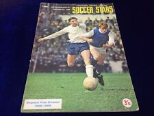 Rare FKS soccer stars 1968/69 Football Picture Stamp album Complete