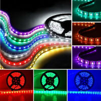 Full Color RGB 10M 600LEDs 3528 SMD Flexible LED Strip Light Roll Super Bright