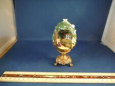 The Franklin Mint Scarlett Of Tara House Egg W/24K Gold Plated Base