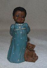 "Miss Martha Originals Amy #83 All God's Children 5"" 1986 In Nightgown W/Bear"