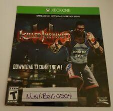 Killer Instinct TJ Combo DLC Character Xbox One (NOT FULL GAME)