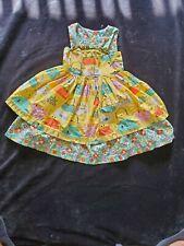 Girls 5 Wishful Wilder Yellow Purse Dress by Little Miss Marmalade