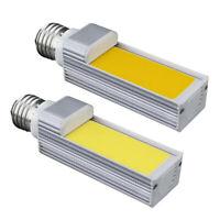 E27 LED Bulbs Corn Lamp 7W COB AC85-265V 180 Degree Horizontal Plug Light /Neu
