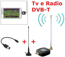 Ls Decoder Digitale Dvb-T Tv Radio Android SmarPhone Tablet samsung lg htc sony