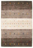 "Hand-knotted  5'2"" x 7'8"" Kashkuli Gabbeh Gabbeh, Stripes, Tribal Wool Rug"