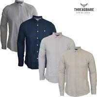 Mens 2nd Chapter Shirt 100% Cotton Button Down Collar Casual Smart Dress Shirt