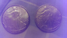 2000 & 2003 1oz. Silver Dollar American Eagle
