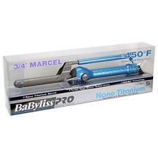 BaByliss PRO Nano Titanium Marcel Curling Iron Blue BABNT75M
