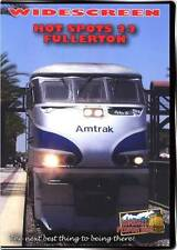 Hot Spots 22 Fullerton California DVD NEW Highbal BNSF Metrolink Amtrak Surfline