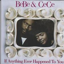Bebe & Cece Winans: If Anything Ever Happened To You PROMO w/ Art MUSIC AUDIO CD
