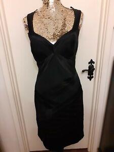 Karen Millen Silk LBD Black Dress