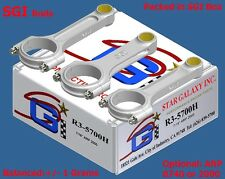 "SGI Forged 4340 Steel H or I Beam Rods SBC 5.700"" 6.000"" 6.125"" 6.200"" 6.250"""