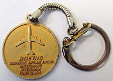 BOEING Pi AWARD OF EXCELLENCE Keychain Keyring medallion Key Fob MINT