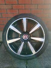 "GENUINE BENTLEY CONTINENTAL GT GTC ELEGANT 21"" INCH ALLOY Wheel With tyre 5x112"