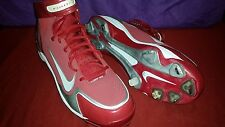 Nike Air Huarache LWP-90 375562 Baseball Red/White Men's Shoes Cleats size 15