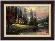 Thomas Kinkade Peaceful Retreat LE Canvas G/P 24x36