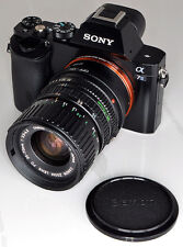 VINTAGE FDn 35-70 mm Lens Macro f3.5-4.5 Cine Sony NEX declicked per E A7 A7s