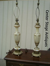 59504 Pair Figural Decorator Table Lamps