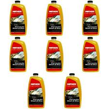 Mothers 05674 Car Wash California Gold Carnauba With Wax 64 Ounce 8 PACK
