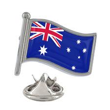 Australia Wavy Flag Pin Badge Australian Aussie Country Brand New & Exclusive