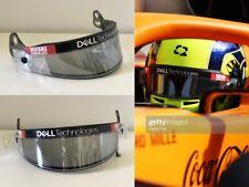 Race used visor 2021 Lando Norris McLaren F1 Team Bahrain