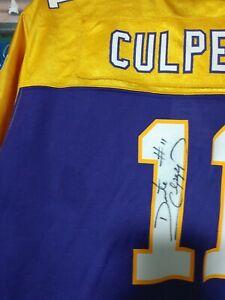 DAUNTE CULPEPPER Autographed signed Reebok Vikings Crop Top Football Jersey NEW