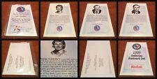 1999 Hall of Fame HHoF Induction Sealed Postcard Set of 4 feat. Wayne Gretzky