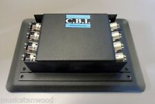 CBI Recessed Stage Floor Box w/ 4 XLR & 4 1/4-Inch Connections (Model #FB8-4F4)