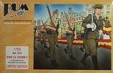 Bum 1/32 Viva La Foreign Legion Soldiers Figures with Rifles Marching New 1010