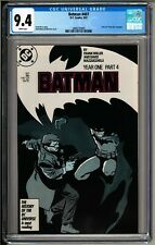 Batman #407 (1987) CGC 9.4 White Pages! Frank Miller Story! Year One Part 4!