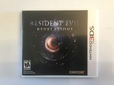 Replacement Case (NO GAME) Resident Evil Revelations - Nintendo 3DS