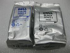 Dell Ink 9 Color & Black Set Genuine MK991 MK990 * SHIPS OVERBOXED