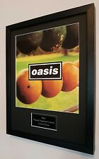 Oasis Framed Original Programme-Plaque-Certificate-Very Rare-Noel Gallagher