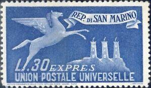 1946 San Marino espressi Espresso per l'estero MNH