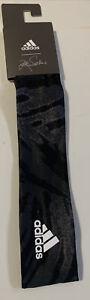NWT Adidas Women's Alphaskin Headband Black/Gray Zoe Saldana OSFA