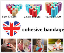 cohesive bandage Waterproof Vet Horse Self-Adhesive Wrap Rap Tape Elastic Stick