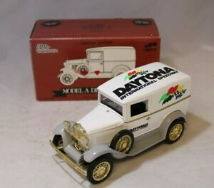 Racing Champions Diecast Ford Model A Delivery Van Daytona Speedway Bank