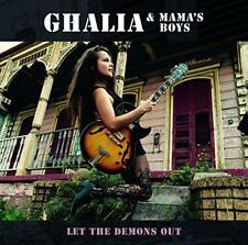 Ghalia And Mamas Boys - Let The Demons Out (NEW CD)